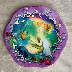 Tinkerbell Disney Faires  Childs Plate 🤩 5/$15 🤩
